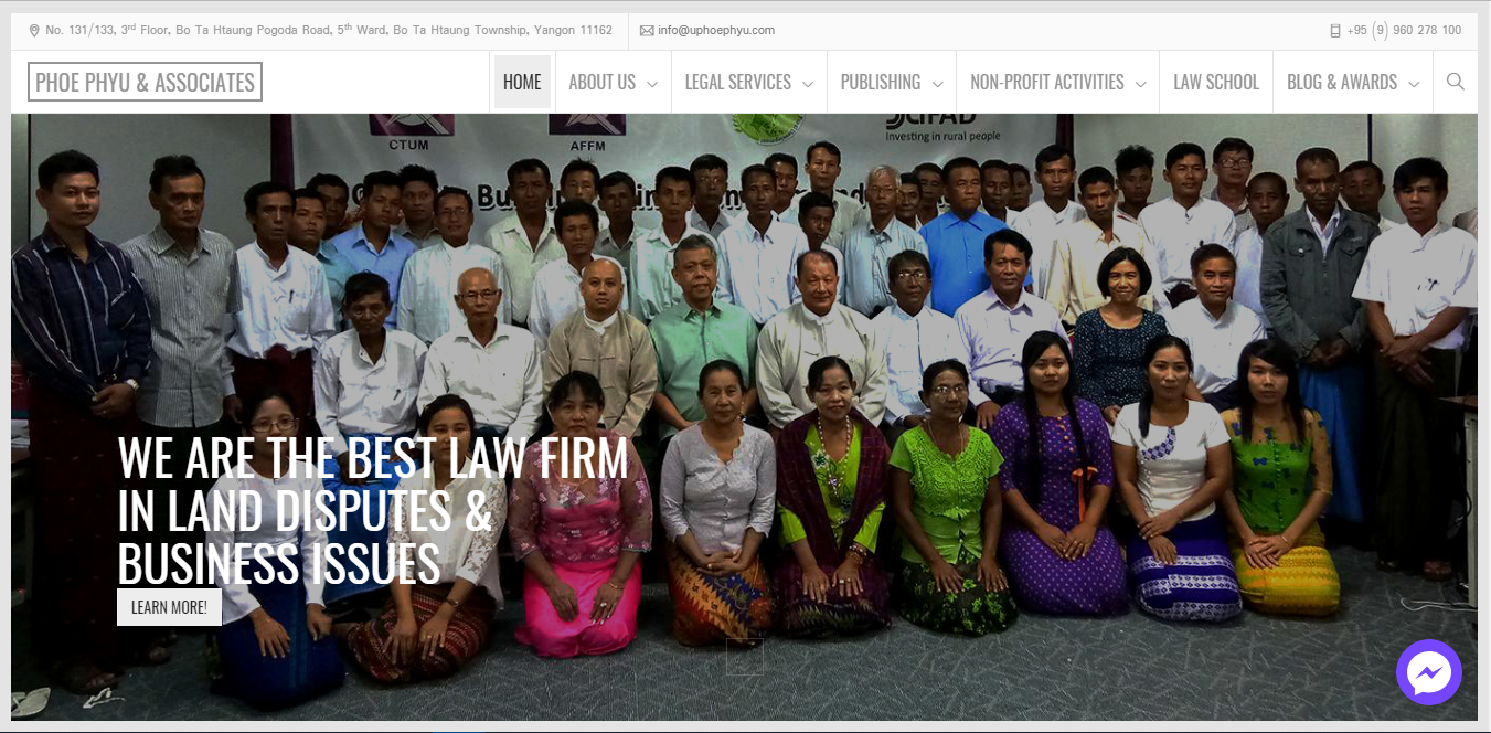 Phoe Phyu & Association Law Firm