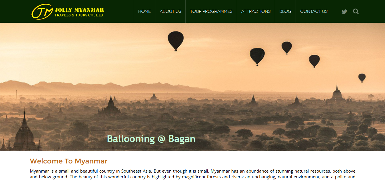 Jolly Myanmar Travels