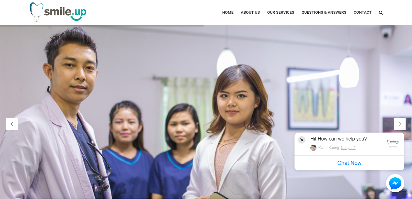 Smile Up Dental Care Myanmar